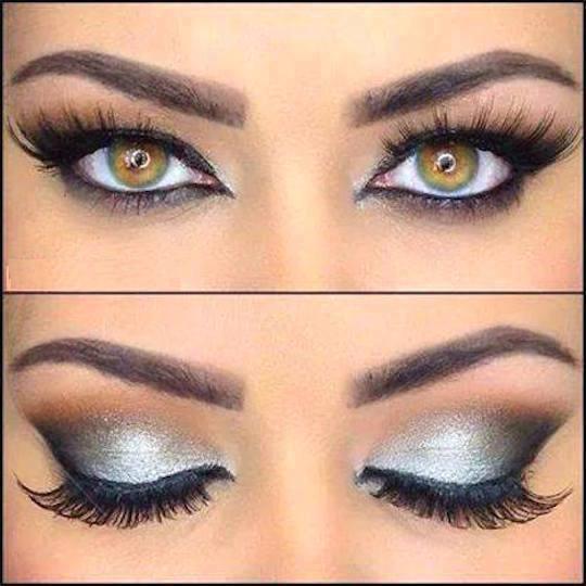 Excelente look de maquillaje para resaltar los ojos