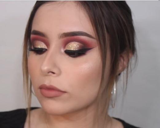 maquillaje-guinda-para-ojos