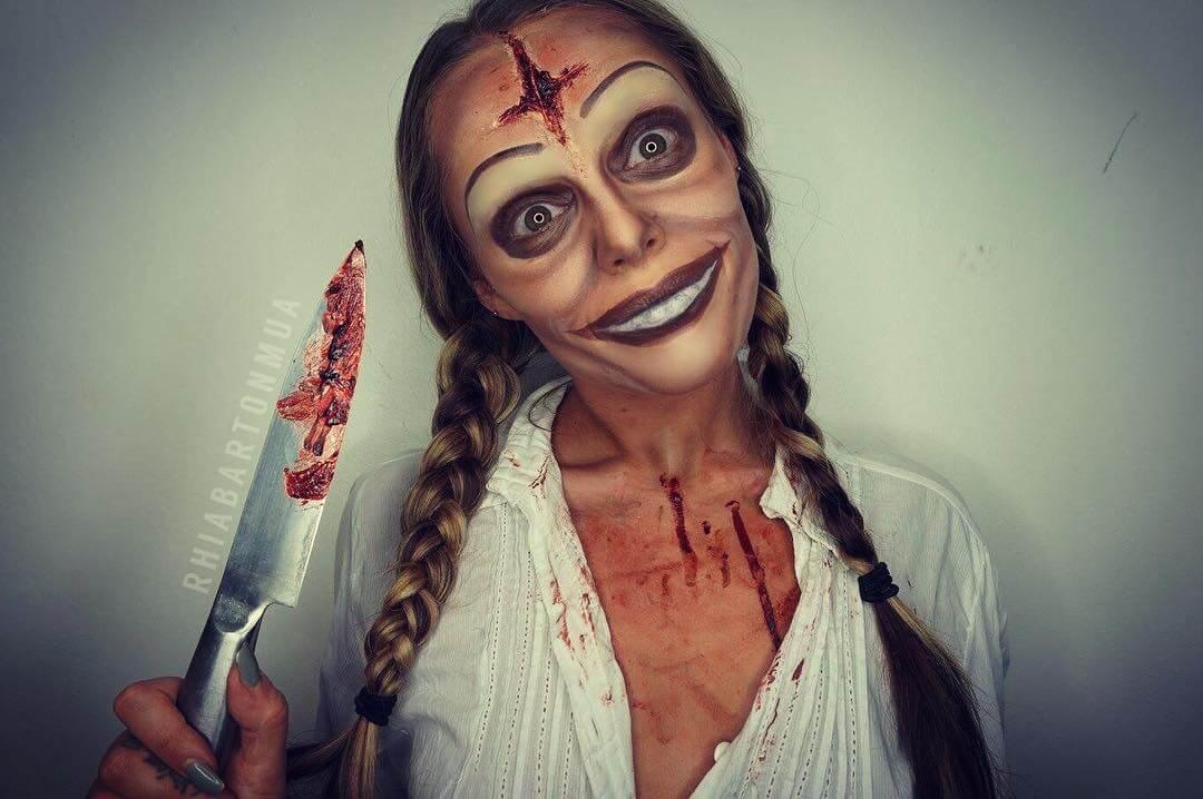 maquillaje la purga