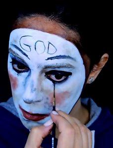 eyeliner maquillaje purga