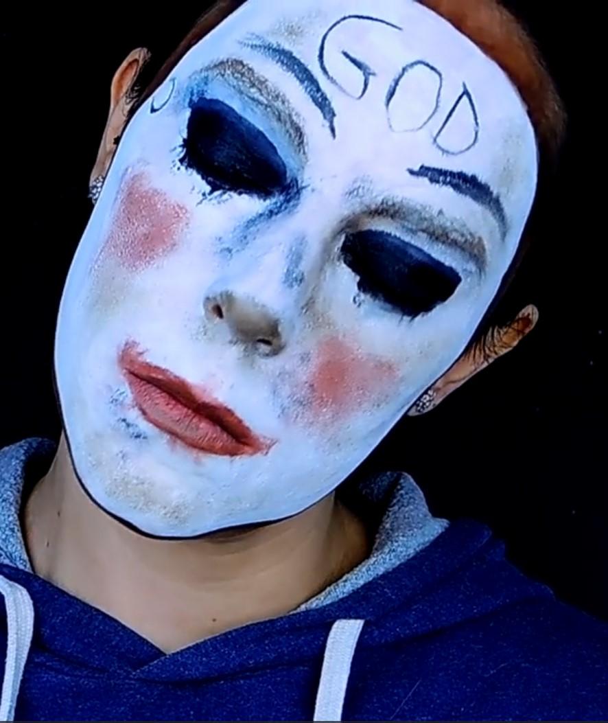 la purga maquillaje
