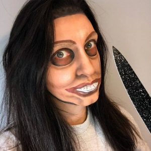 maquillaje la purga mujer