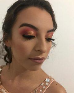 imagenes-de-maquillaje-rosa-dorado-2