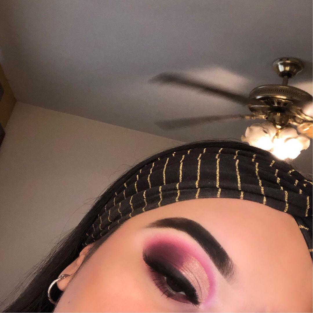 imagenes-de-maquillaje-rosa-dorado-3