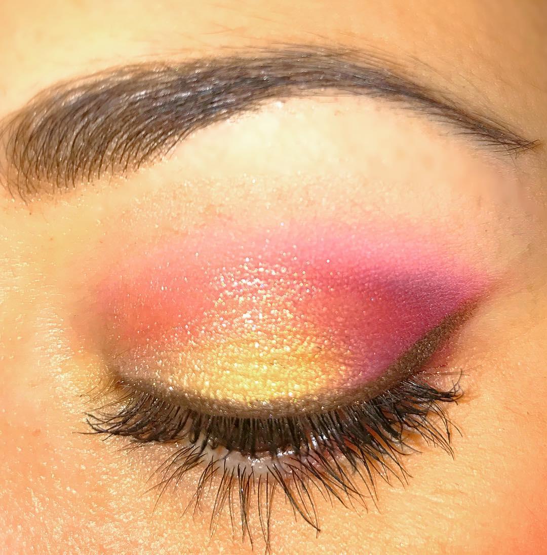 imagenes-de-maquillaje-rosa-dorado